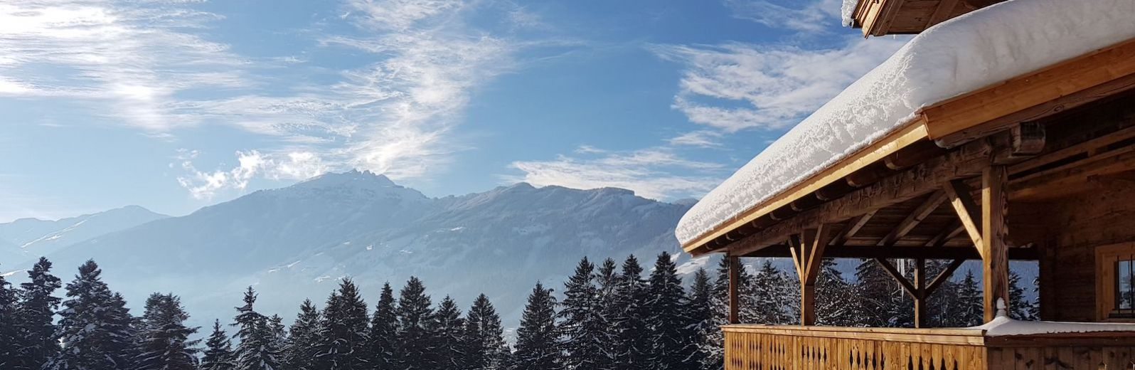 The Zillertal Valley in Tirol Austria | blue sky, mountains, alps