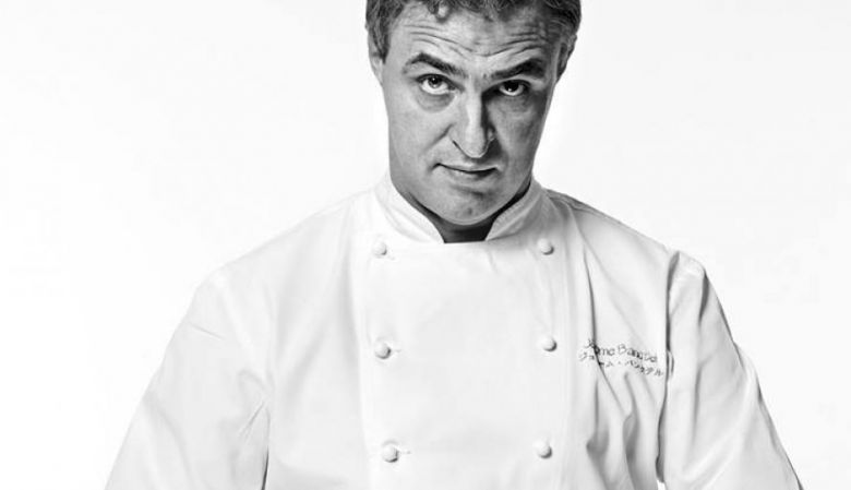 Photo of Chef Jérôme Banctel of Michelin La Gabriel Restaurant Paris at La Reserve Hotel