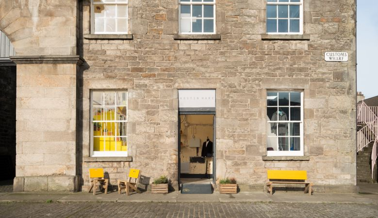 Kestin Hare - Custom Lane in Edinburgh's port-town, Leith, is a collaborative platform at heart, a buzzing hub to the communities of design and hotbed of culture for the very best of Design in Scotland. Inside, GRAS