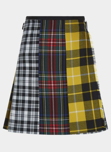 The Mix and Match is a modern take on our Classic kilt hand crafted in Scotland, made from 100% British wool.
