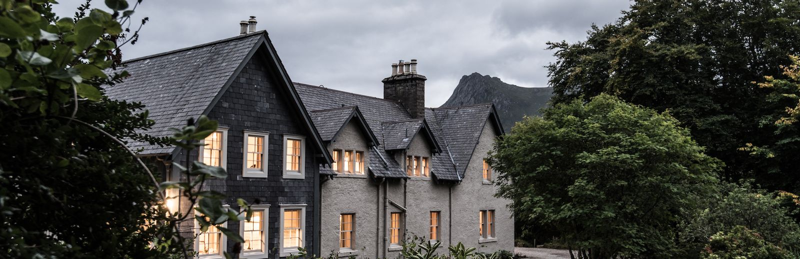 Kinloch Lodge in Sutherland Scotland is a boutique guesthouse and B&B
