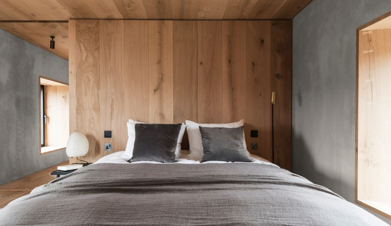 Luxury Bedroom Kyle House Sutherland - a design retreat in the Scottish highlands