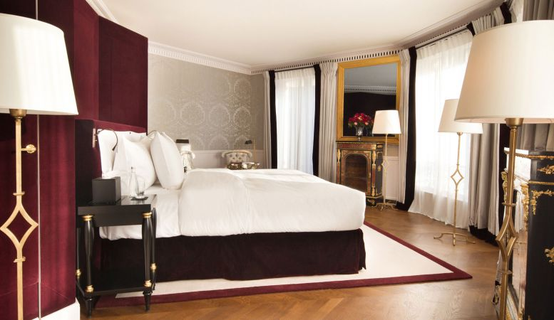 La Reserve Paris  - Luxury Hotel Suite at La Reserve Hotel Paris by Jacques Garcia. Michel Reybier Hospitality