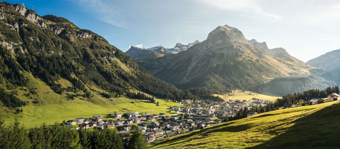 Lech, Alps, golf, holiday, Austria, luxury, mountains