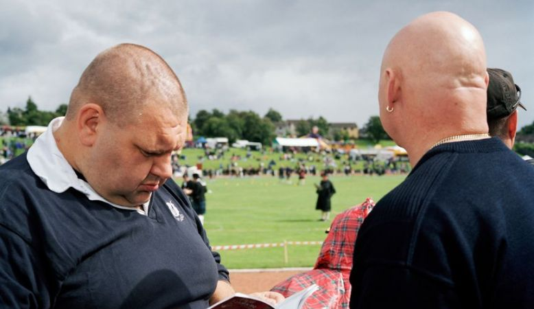 Martin Parr GB. Scotland. Dunoon. Cowal Games. 2004.