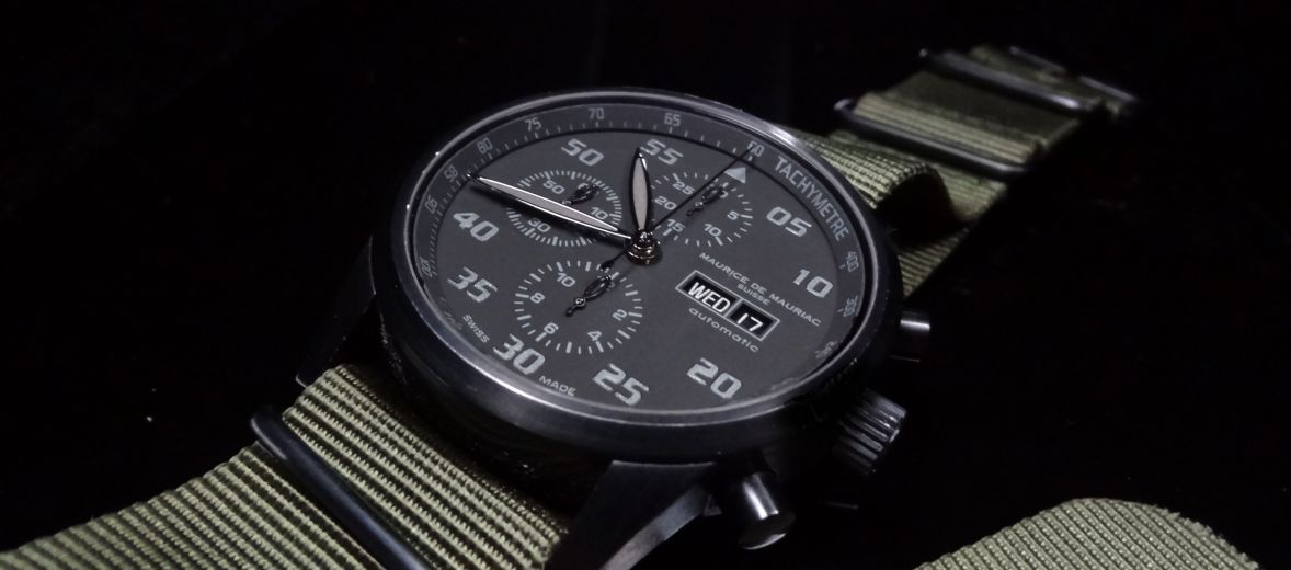 Maurice de Mauriac watch