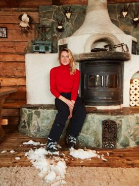Food Writer Meredith Erickson - author of her new book, Alpine Cooking