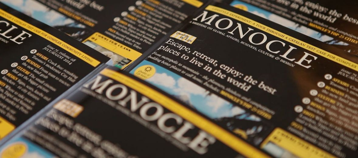 Monocle Magazine cover