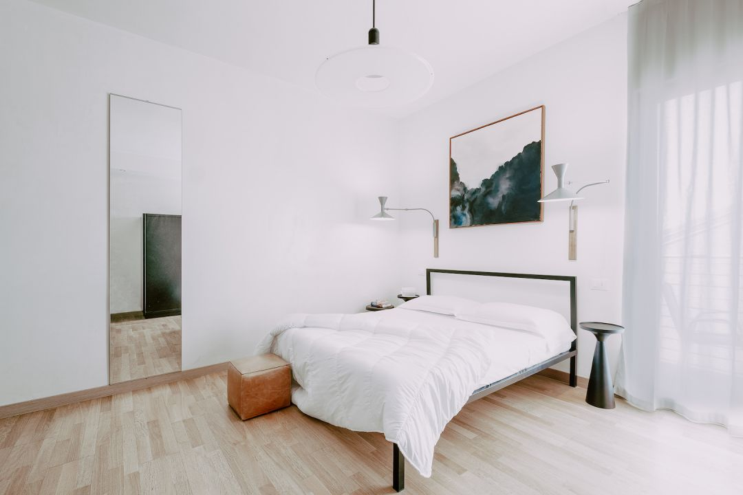 Design Bedrooms modern and minimalist | Aqva Boutique Hotel in Sirmione, Lake Garda