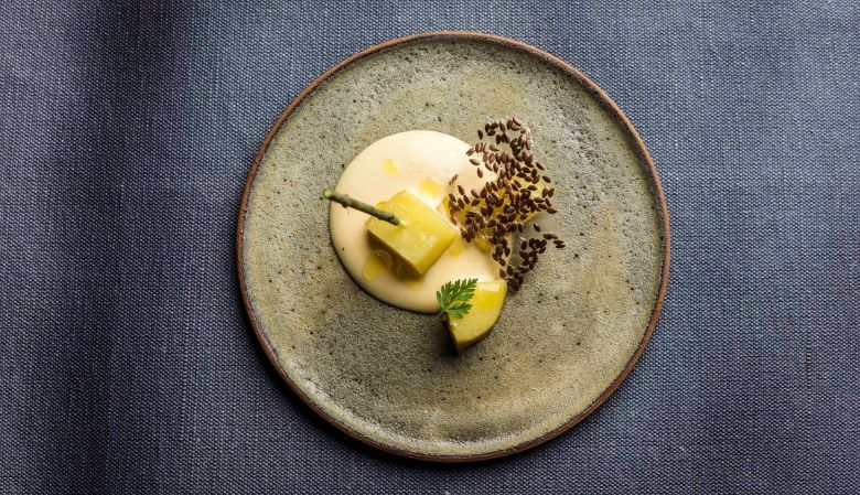 linseeds x pdt - Gourmet Dining by chef Philip Rachinger Hotel & Restaurant Mühltalhof Neufelden, is a riverside boutique hotel and culinary hotspot in Austria