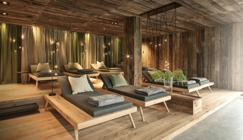 Forest & Nature Spa at the modern design hotel Forsthofgut in Leogang Austria