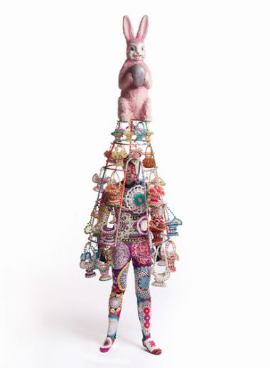 Nick Cave, Soundsuit, 2010 Mixed media, 245 × 76 × 76 cm Courtesy of the Artist and Suzanne Tarasieve Paris, France ©James Prinz