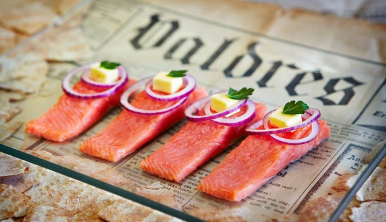 Valdres Rakfisk Foodie Festival, Norway, celebrating the semi fermented trout delicacy