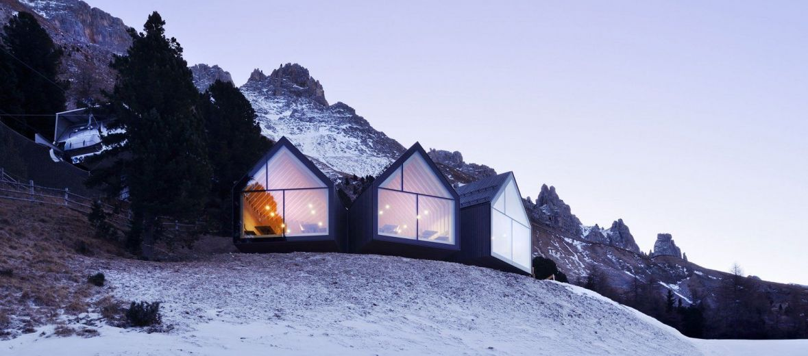 Peter Pichler Architects: a practice evoking mountainous grandeur Oberholz Mountain Hut in collaboration with architect Pavol Mikolajcak