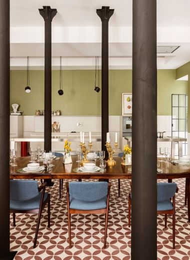 Dining Room Concept | Casa Fortunato Amoreiras | Lisbon, Portugal | Luxury Design Interiors of the Boutique Hotel | White Line Hotels