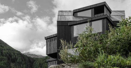 Architectural design Hotel Bühelwirt Valle Aurina/Ahrntal in South Tyrol Italy, member of The Aficionados