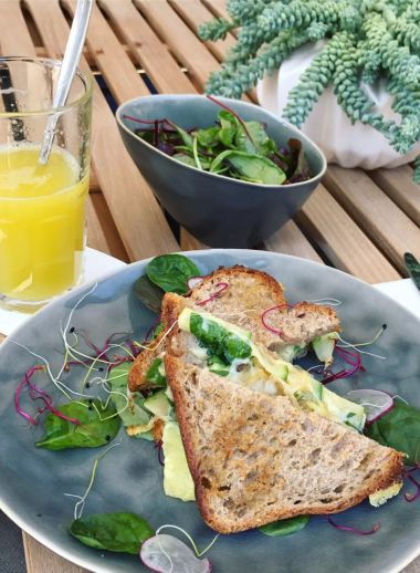 Casual foodie hotspot in Geneva, Pepper - best places to eat, plated avocado toasties