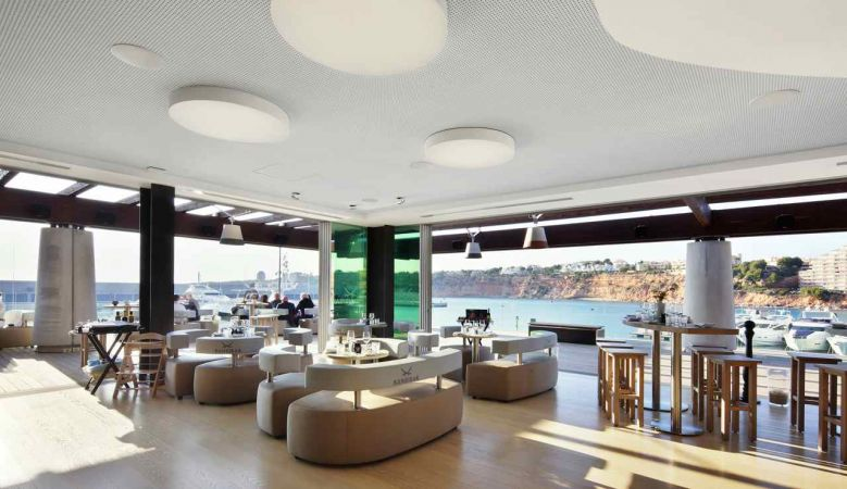 Sanzibar at Port Adriano Mallorca, Philippe Starck