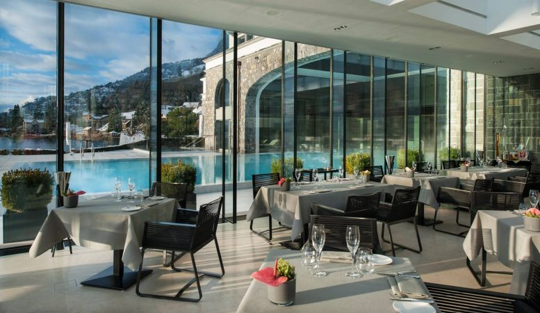 restaurant PRISMA at Park Hotel Vitznau, Lake Lucerne, Switzerland