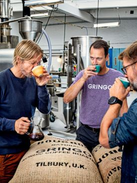 Gringo Nordic, founders coffee tasting, Gothernburg Sweden