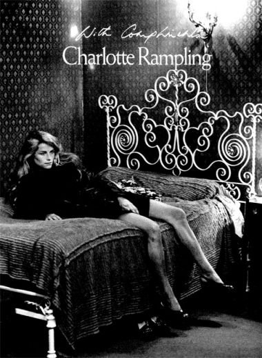 Charlotte Rampling - with compliments book cover, Comptoir de l'Image, Paris, A Design Guide