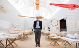 'Renzo Piano: The Art of Making Buildings' in London was organised by the Royal Academy of Arts in collaboration with Renzo Piano Building Workshop and the Fondazione Renzo Piano. Photography: David Parry / Royal Academy of Arts