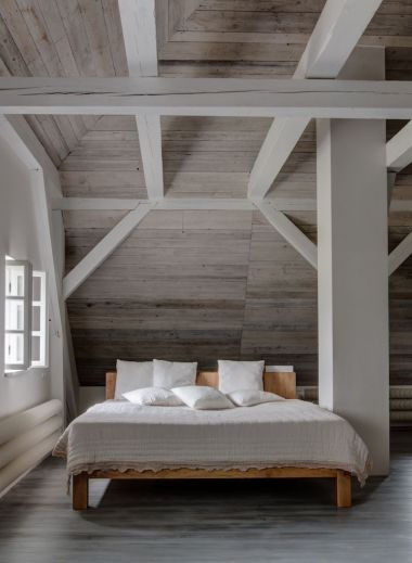 Luxury Bedroom Suites in White | Modern country living interiors | Mezi Plutky Boutique Hotel in the Carpathian Mountain range of Beskydy offers cool design accommodation in the Moravian-Silesian region of the Czech Republic