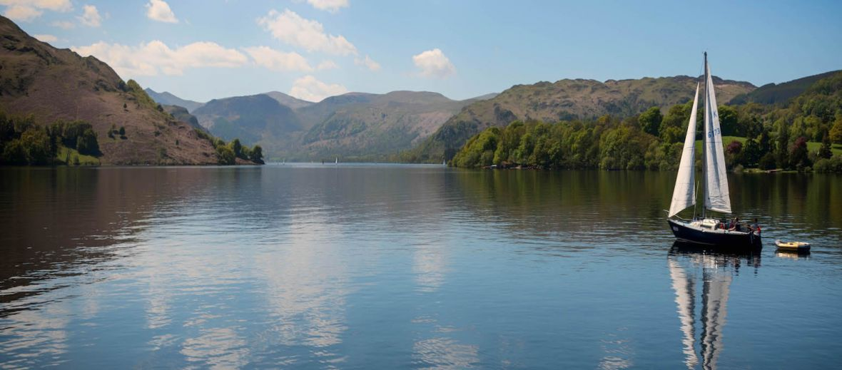 Lake, Ullswater, Lake District, Cumbria, nature, wordsworth, England, countryside