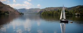 Lake District, Lake Ullswater, England, travel