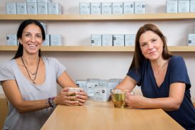 Aphrodite Florou and Yanna Mattheou | ANASSA Organics | Greek Herbal Artisan Teas | The Aficionados
