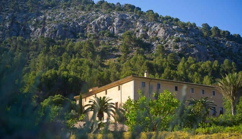 Son Brull, hotel, spa, Mallorca, Mallorcan countryside, mountains, trees, nature, natural, escape, escapism