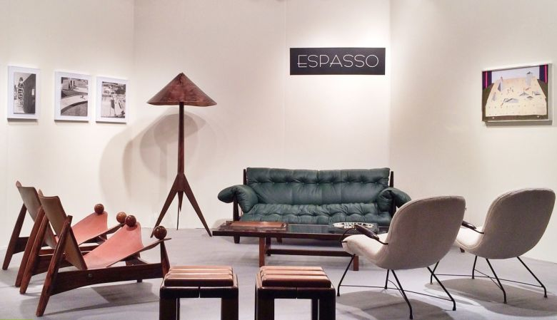 ESPASSO store interior in tribeca's design district, New York