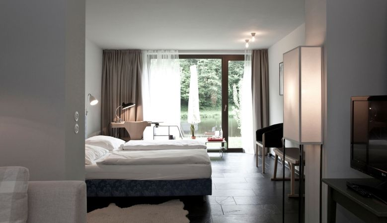 Luxury Suite Accommodation Hotel & Restaurant Mühltalhof Neufelden, is a riverside boutique hotel and culinary hotspot in Austria