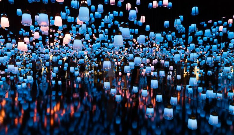 Creation studio teamLab / チームラボ exposes Maison&Objet, Paris 2017
