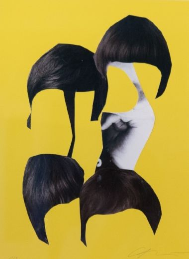 The Beatles - mushroom head art work by Sergei Sviatchenko | Interior Design Hotel Altstadt Vienna | United Nations Suite