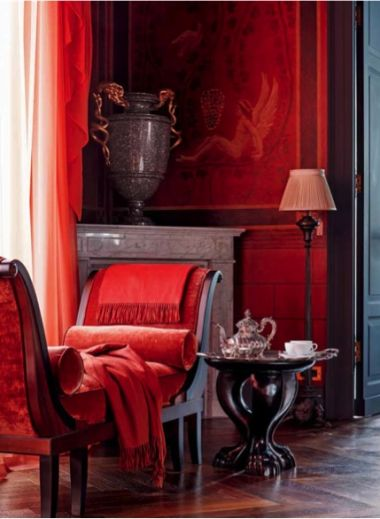 A room by Jacques Garcia, design, interior designer, luxury