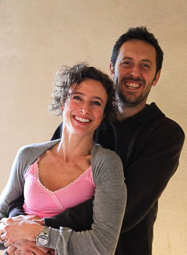 Fabio Firli & Suzanne Simons - Owners & Creators of the FOLLONICO B&B boutique guesthouse in Montefollonico, Italy