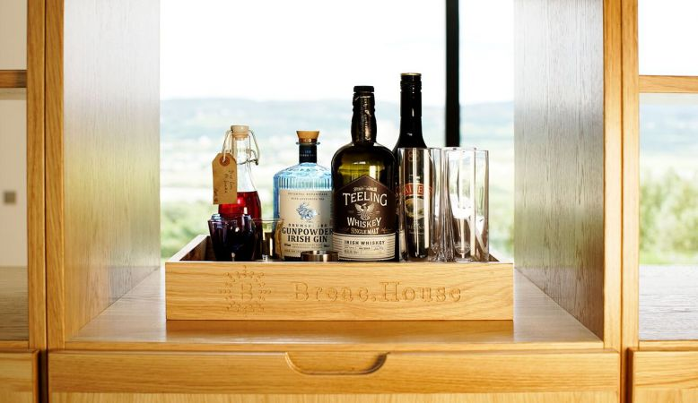 Honesty Bar - Breac.House Donegal Ireland- small design Bed & Breakfast at Horn Head Peninsula, coastline and mountains of Ulster.