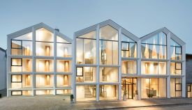 Schgaguler Hotel Castelrotto in Alpe di Siusi South Tyrol designed by Peter Pichler Architecture