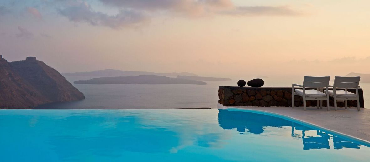 Aenaon Luxury Villas, Santorini, Cyclades, Greece
