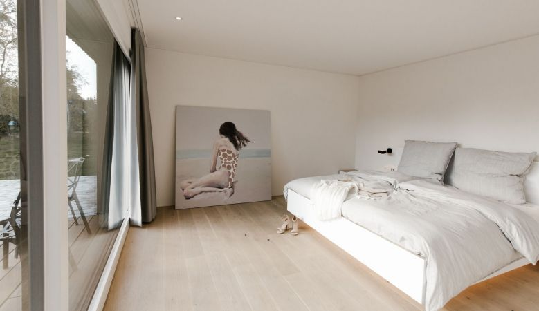 Boutique Bedrooms - Luxury interiors Design Guesthouse Quartier Wieck am Darß, Baltic Coast Germany