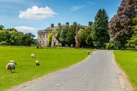 Dalemain House Lake District England - a hertiage country house and gardens in the north of the UK, close to Ullswater