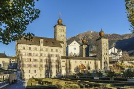 The historic city of Brig, Stockalperschloss, Switzerland