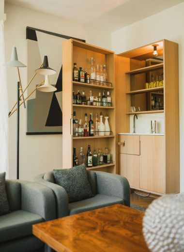 Harry Thaler Drinks Cabinet | Villa Fluggi | Private Holiday House Merano, Italy | The Aficionados