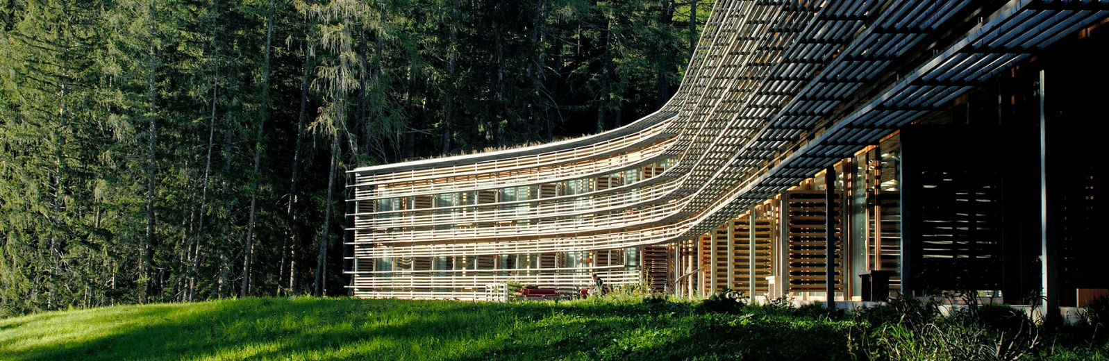 Purity of nature and design in South Tyrol-Vigilius Mountain Resort, a design hotel created by architect, Matteo Thun