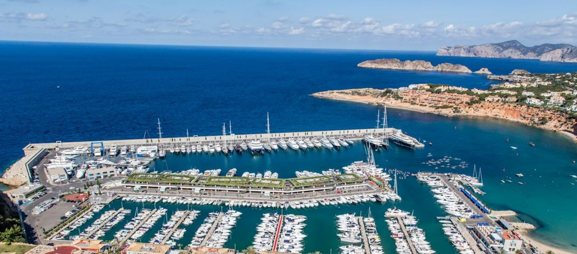 Port Adriano Mallorca designed by Philippe Starck