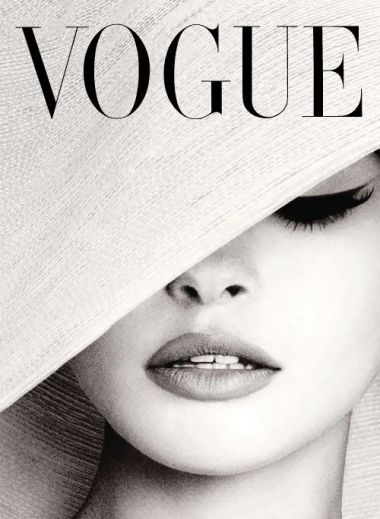 Vogue vintage Cover from Comptoir de l'Image, Paris, A Design Guide