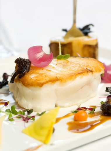 A photograph of a classic fish dish from Gothenburg restaurant Fiskekrogen - Foodie Guide to the best restaurants to eat in Gothenburg, Sweden