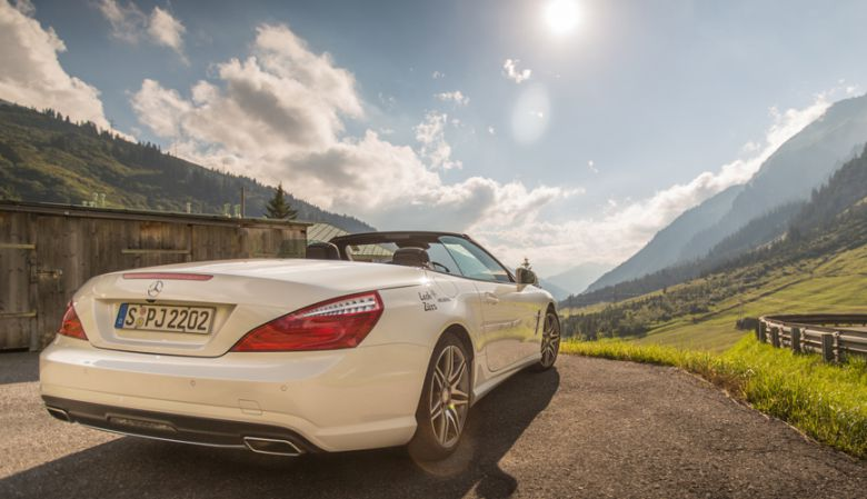 Lech, Alps, Mercedes Benz, holiday, Austria, luxury,