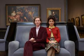 Wes Anderson & Juman Malouf create the exhibition 'Spitzmaus Mummy in a Coffin and other Treasures' Vienna.